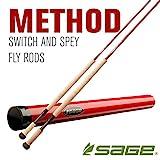 Sage Fly Fishing Fly Fishing 8126-4 Method 2HD 8WT 12'6' L Rod (Piece 4)