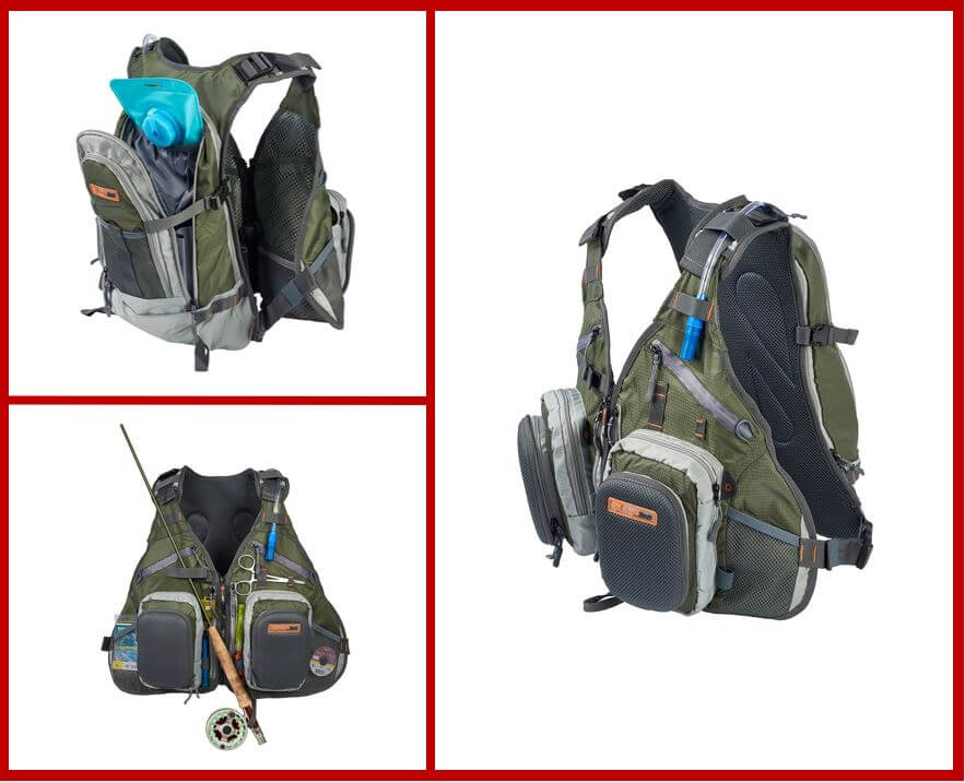 Anglatech Fly Fishing Combo Chest Pack