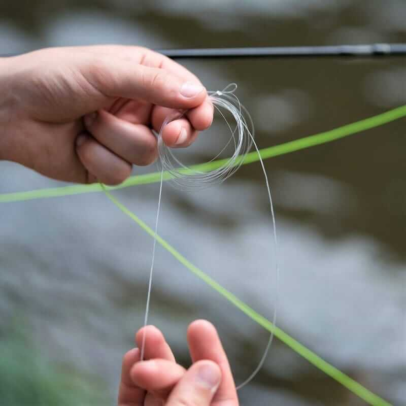 How To Tie A Leader To Fly Line Featured