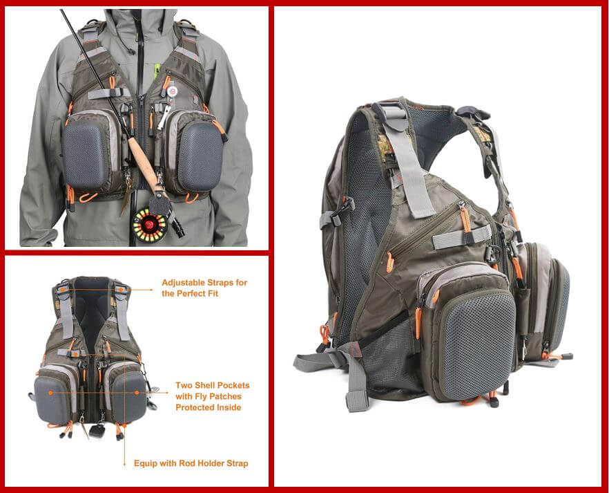 Maxcatch Fly Fishing Vest Pack