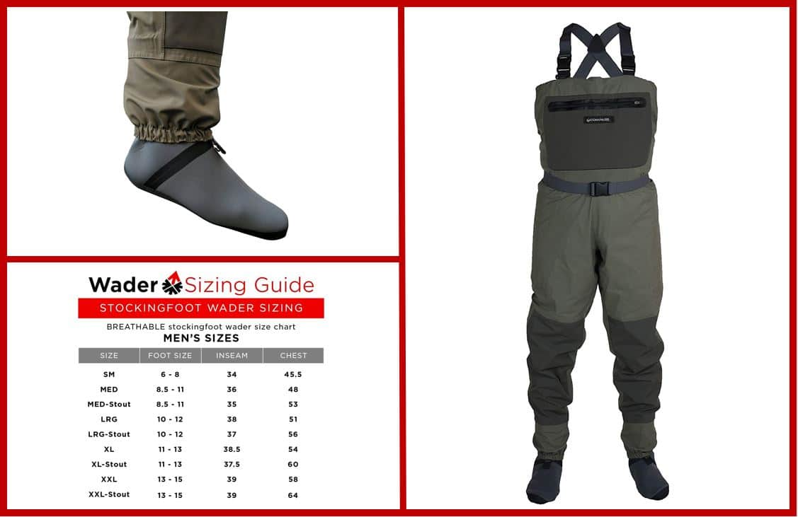 COMPASS 360 Deadfall STFT Chest Wader