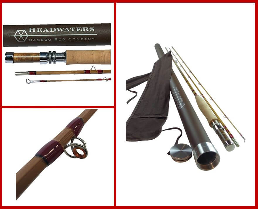 Headwaters Bamboo Bamboo Fly Rod