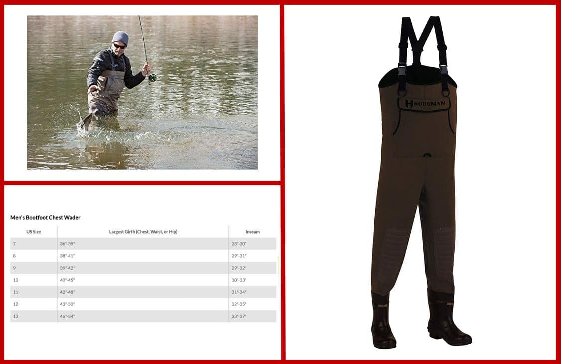 Hodgman Caster Neoprene Cleated Bootfoot Chest Wader