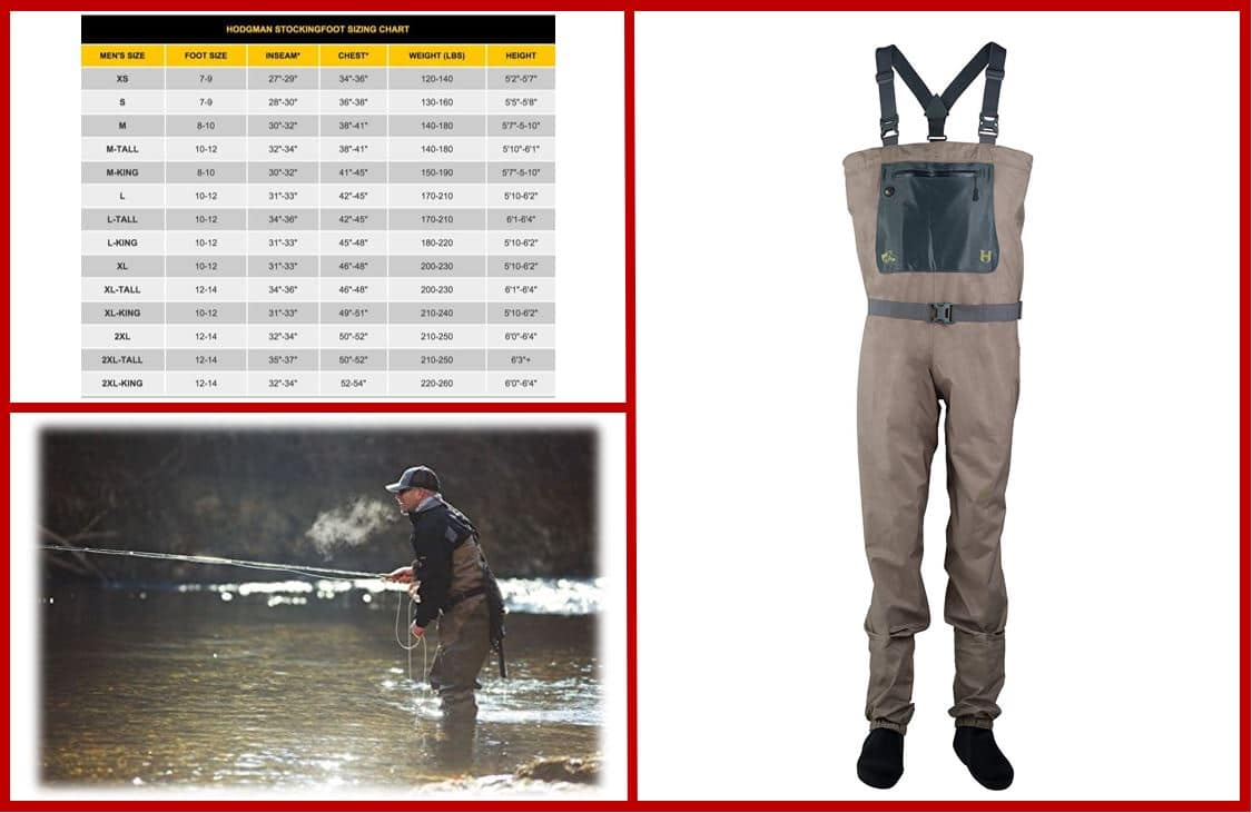 Hodgman H3 Stocking Foot Chest Wader