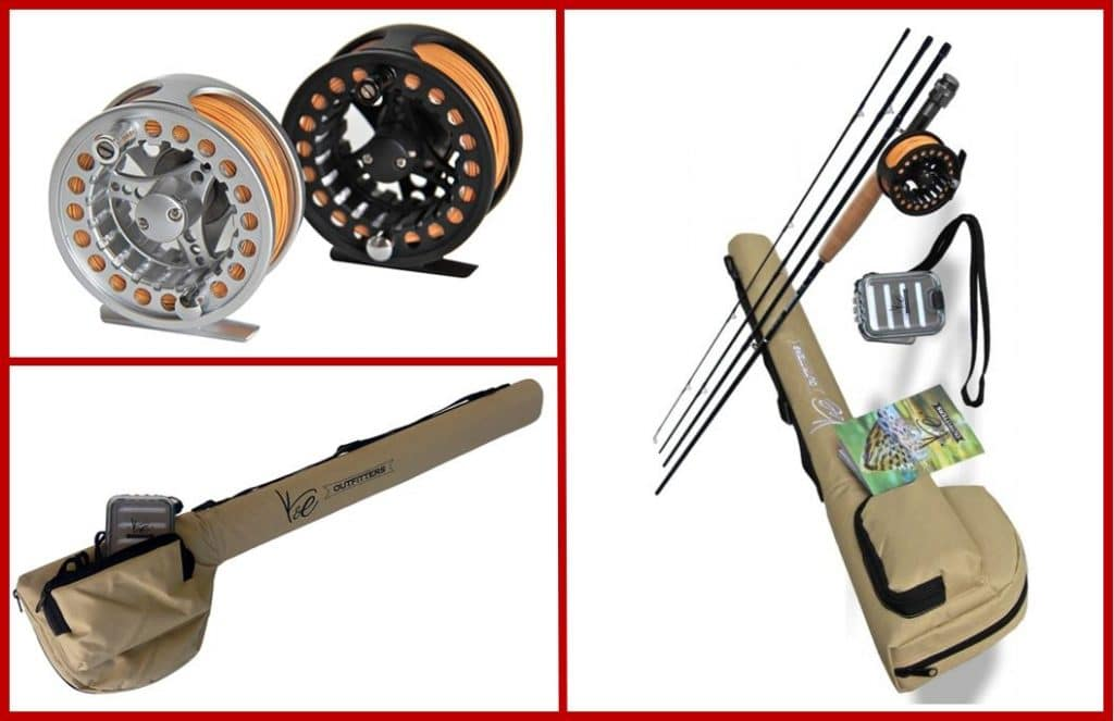 K&E Outfitters Rod and Reel Complete Package