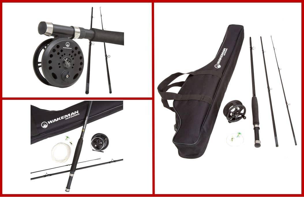Wakeman Charter Series Fly Fishing Combo