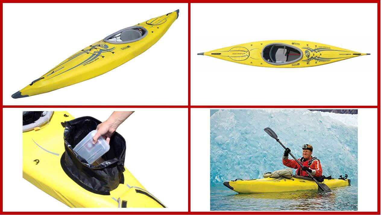 ADVANCED ELEMENTS AirFusion Elite Fishing Kayak