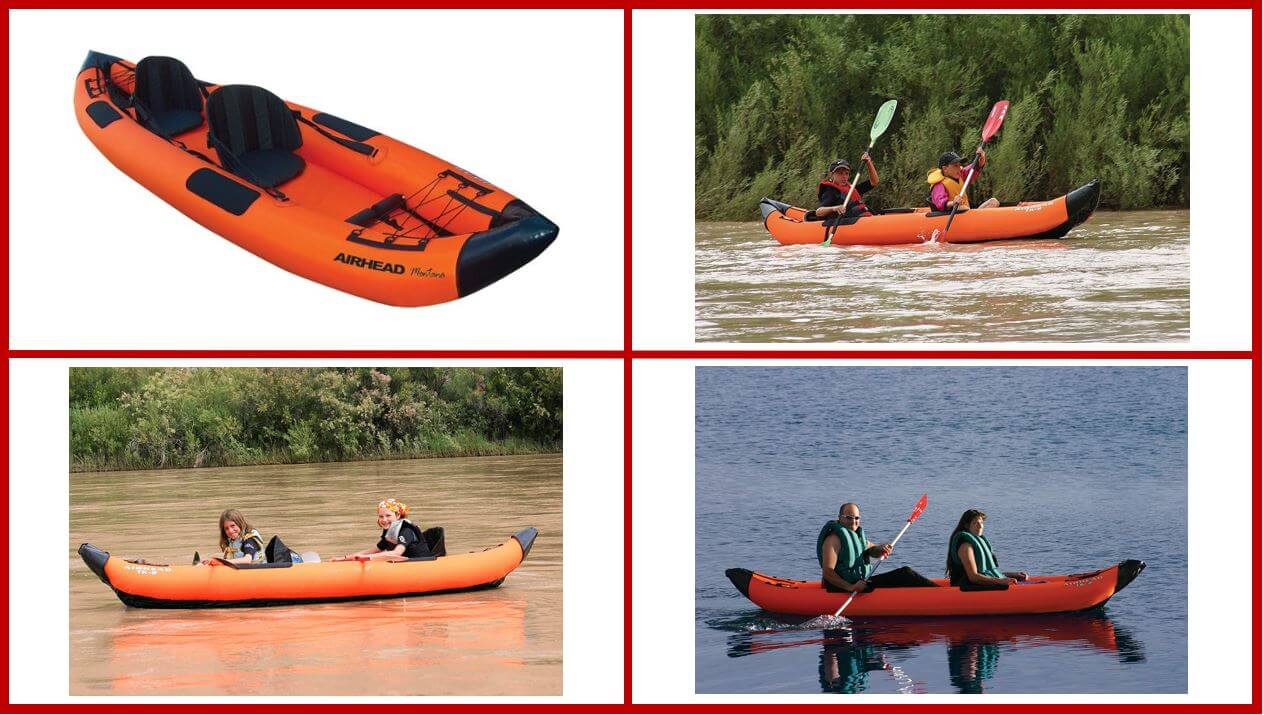 Airhead Montana Fishing Kayak