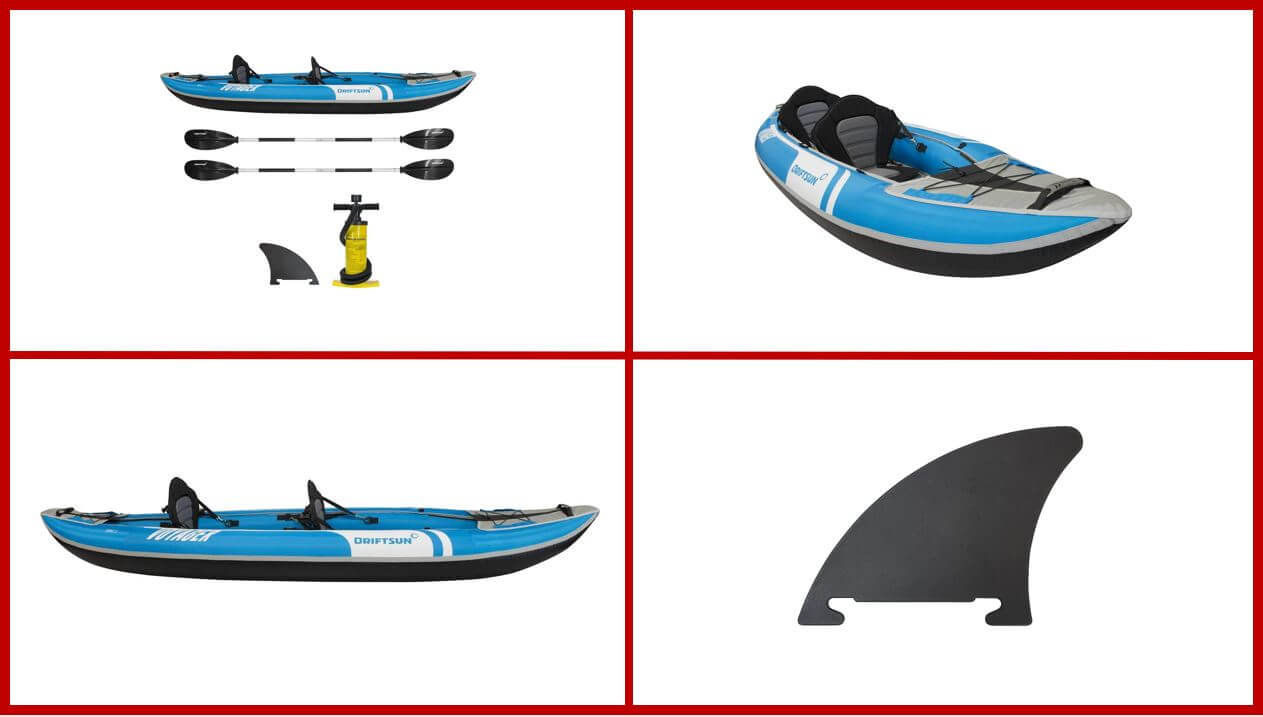 Driftsun Voyager Fishing Kayak