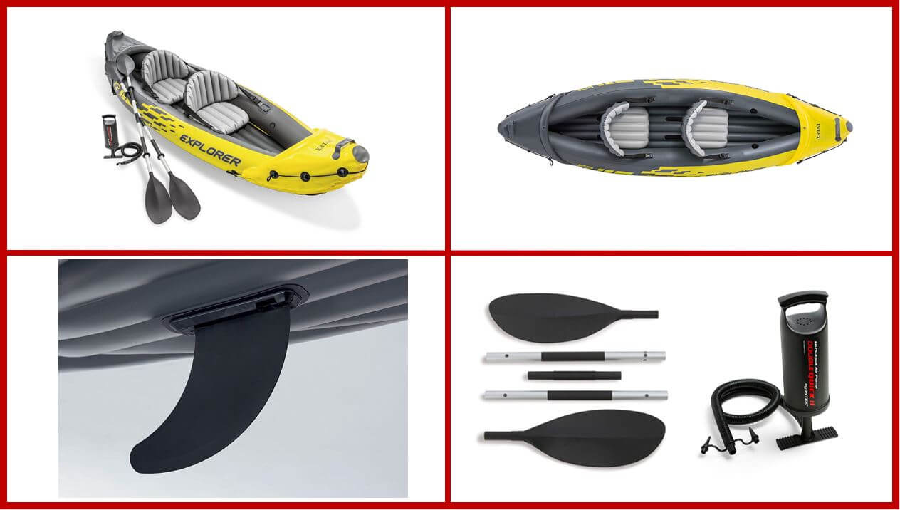 Intex Explorer Fishing Kayak