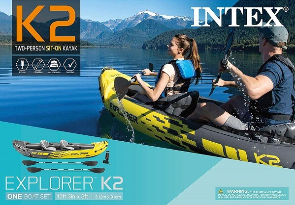 Intex Explorer Fishing Kayaks