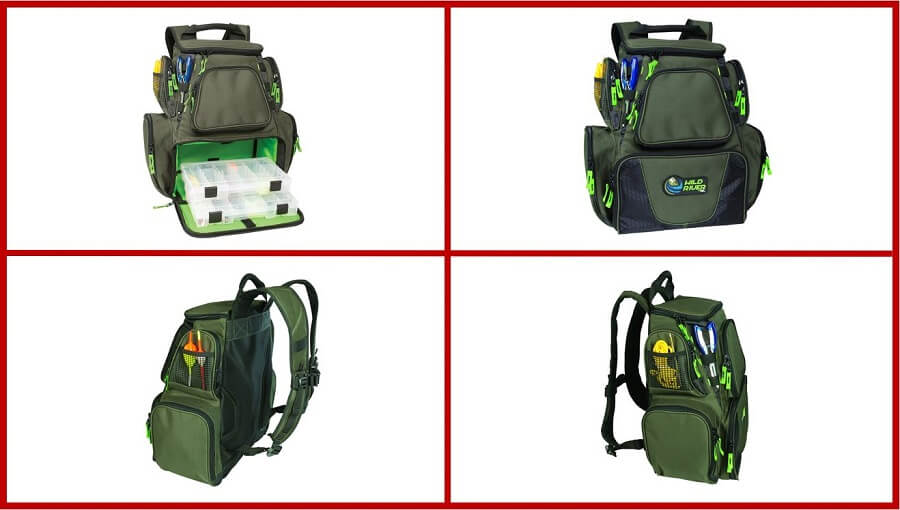 Wild River Multi Tackle Backpack