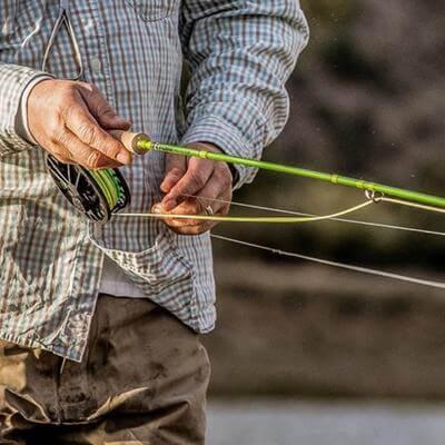 Sage fishing rod